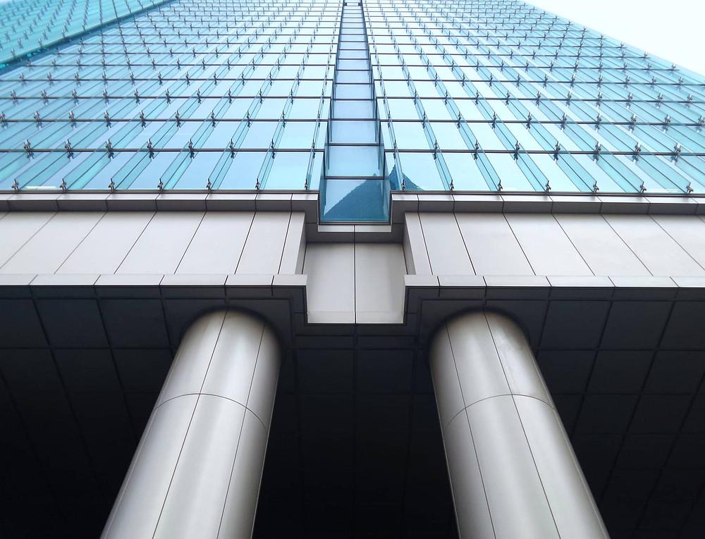 Skyscraper foundation