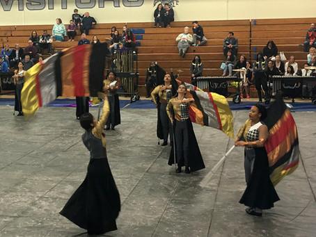 Winter Guard competes in Valencia March 17
