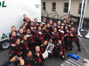 Drumline takes second in season's first competition