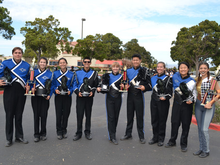 Thank you to all our Marching Band volunteers