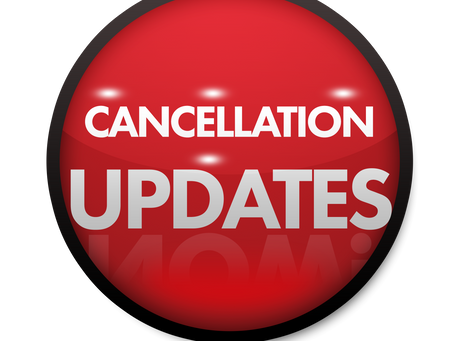 Cancellations and how to help