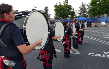 Drumline to compete Feb. 17 in Monrovia