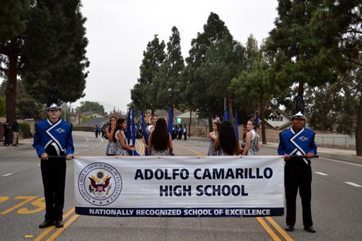 Camarillo Christmas Parade.Achs Music 2016 Christmas Parade