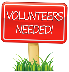 Volunteers are needed for upcoming fundraisers