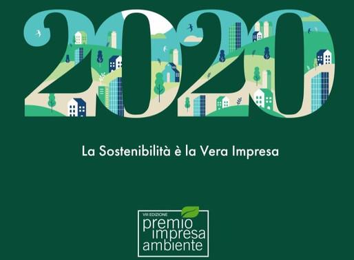 Premio Impresa Ambiente, candidature dal 1° agosto