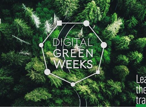 Digital Green Weeks - Cambiamento climatico e protezione ambientale