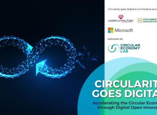 Circularity goes digital, al via la call per startup e pmi