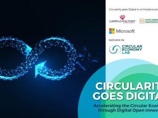 Circularity goes digital, al via la call per startup e pmi