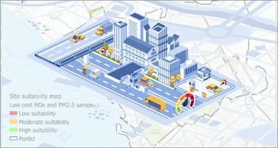 Qualità dell'aria, da ENEA metodo innovativo e low cost per il monitoraggio