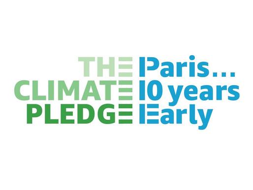 Climate Pledge, superati i 100 firmatari impegnati a raggiungere 0 emissioni nette entro il 2040