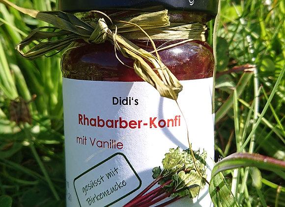 Rhabarber-Aufstrich mit Birkenzucker