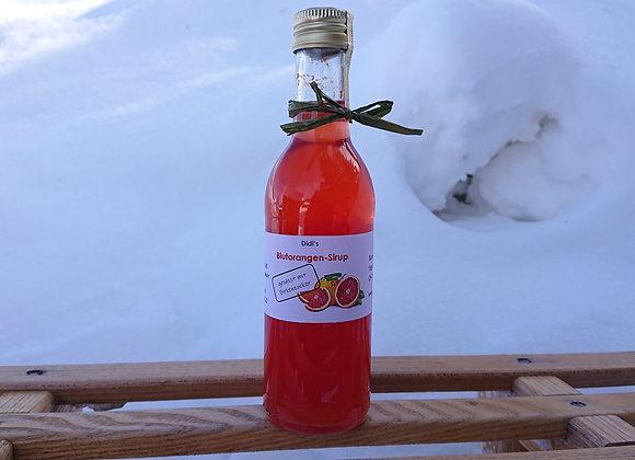 Blutorangen-Sirup mit Birkenzucker