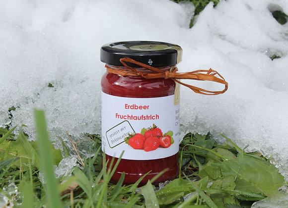 Erdbeer Fruchtaufstrich mit Birkenzucker