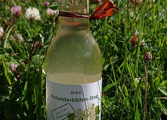Holunderblüten-Sirup mit Birkenzucker