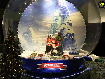 Giant SnowGlobe Greenville