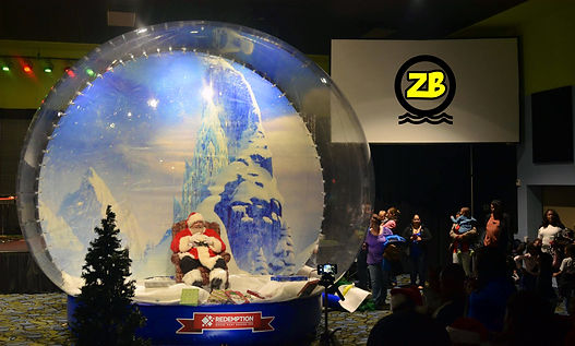 Giant Snow Globe Greenville