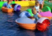 Bumper Boats Paddle Boats