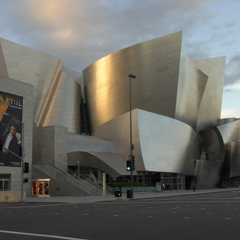 Disney Hall in LA