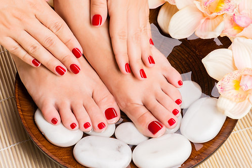 Manicure and Pedicure Spa Gift Voucher