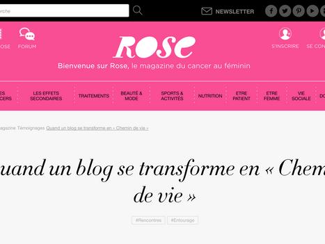 """Rose Magazine partage notre """"chemin de vie"""""""