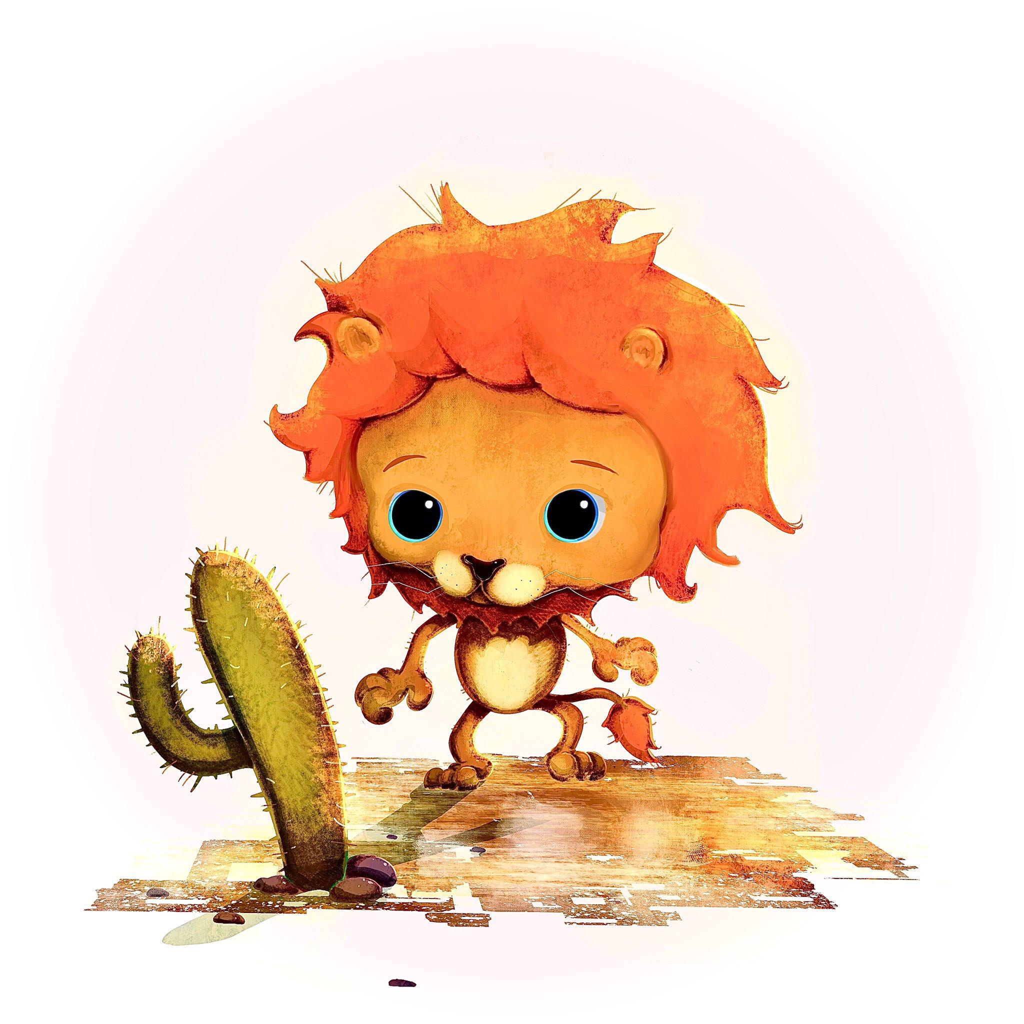 Cactus Lion
