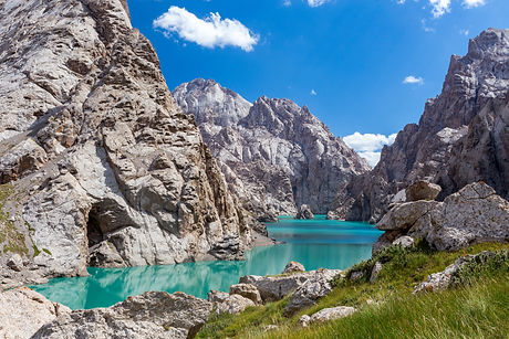 Amazing mountain lake Kelsuu, Kyrgyzstan_ unique.jpg