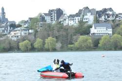 Ben fährt auch Boot