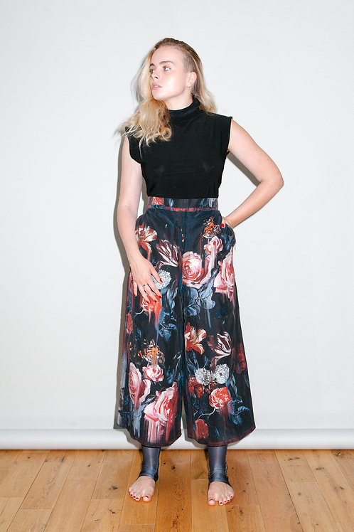 WILD ABOUT silk trousers