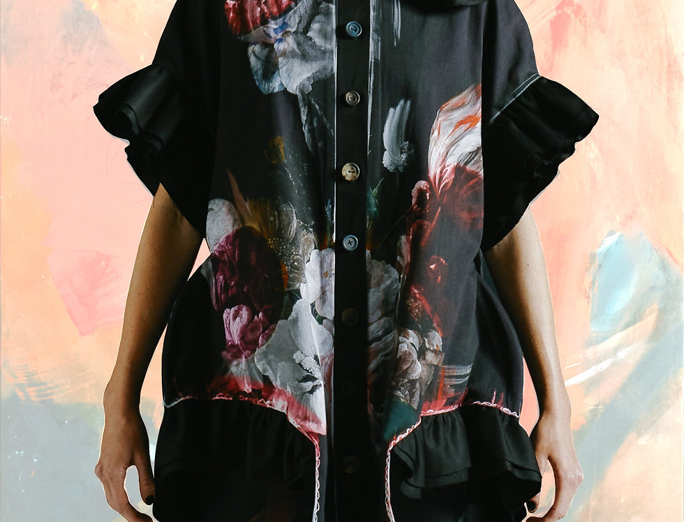 """BODY"" Sculptural jacket-shirt  [MADE TO ORDER]"