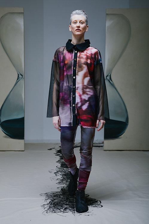 LIQUID graphic print shirt