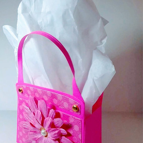 Gift Paper Purse (Pink)