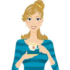 Wendy Taylor loves tea