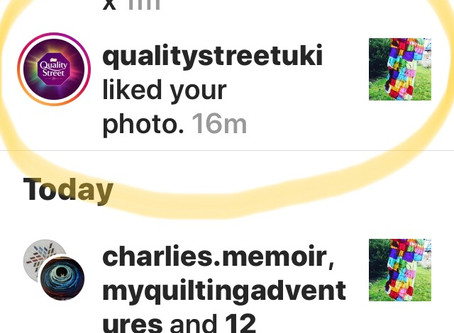 Liked by Quality Street- official!