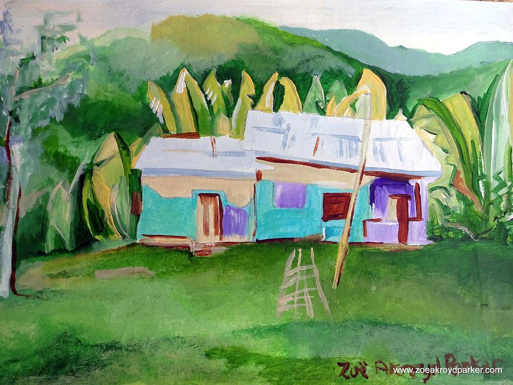 """""""Little House, Big Banana Leaves"""""""