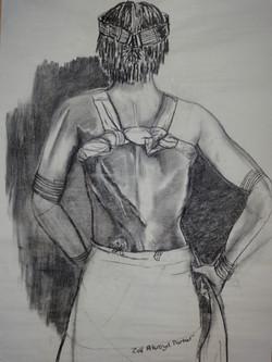 Hamer Woman Bearing the Scars