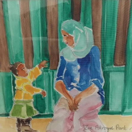 Look, Mum! A4 Giclee Print