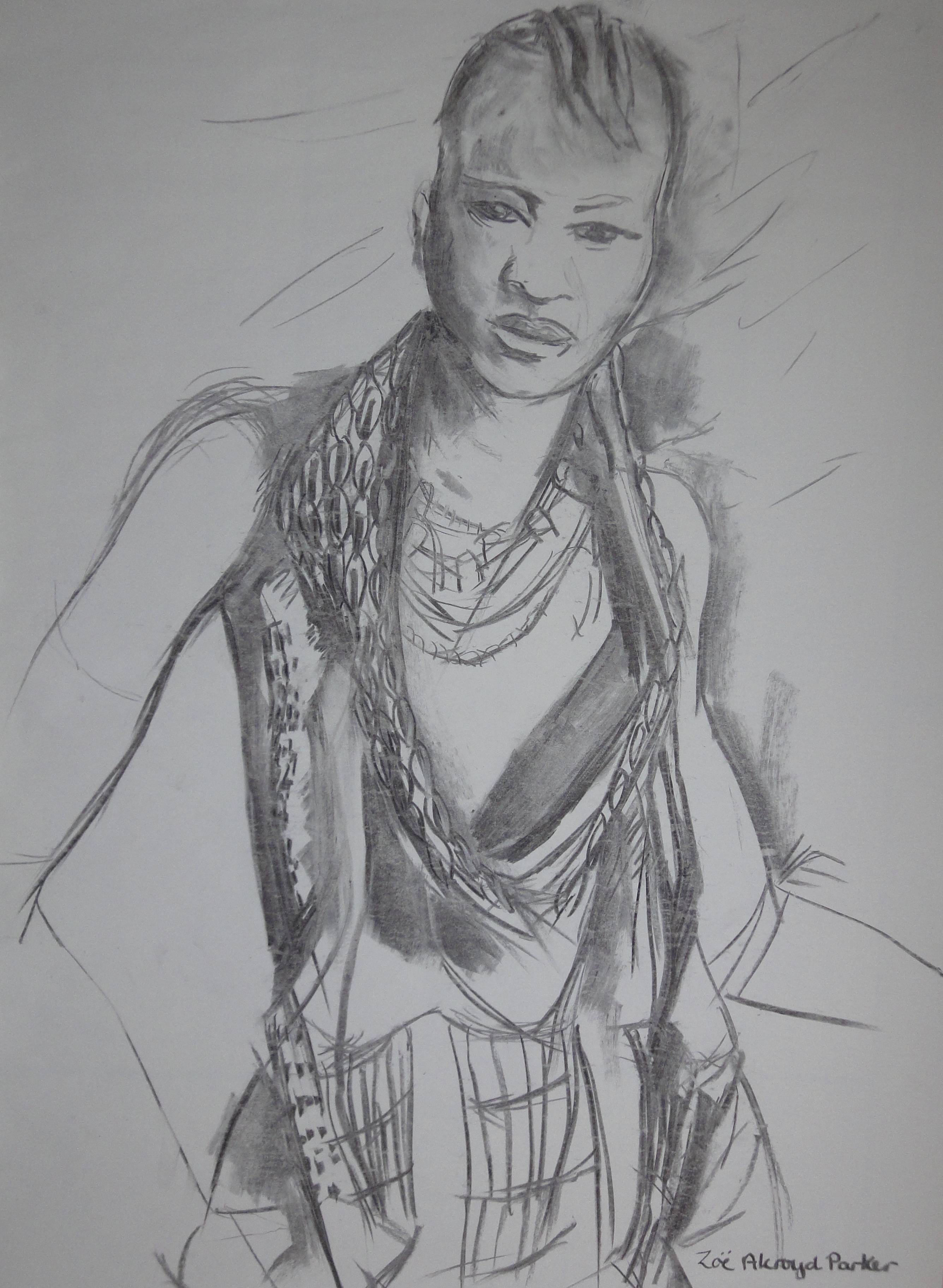 Young Hamer Woman (attitude)