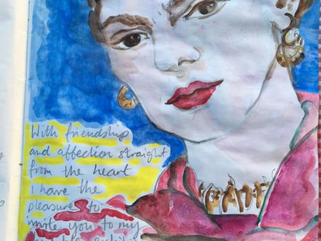 I went to see...Frida Kahlo at the V&A!