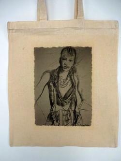 Canvas Tote Bag- Attitude