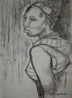 Young Hamer Woman