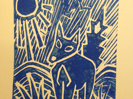 More Lino-Cutting Fun