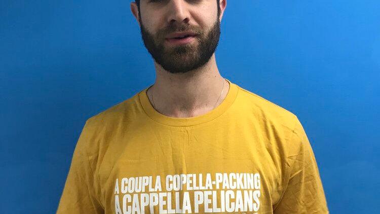 A'Capella Pelican t-shirt