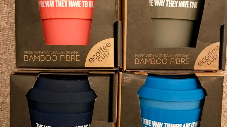 Reusable coffee/tea cup