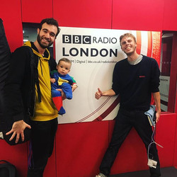 We had a wonderful time on @bbcradiolond