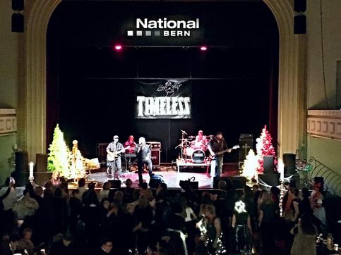 Konzert im legendären Hotel National in Bern