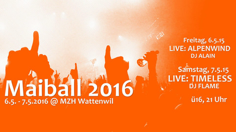 Live am Maiball 2016