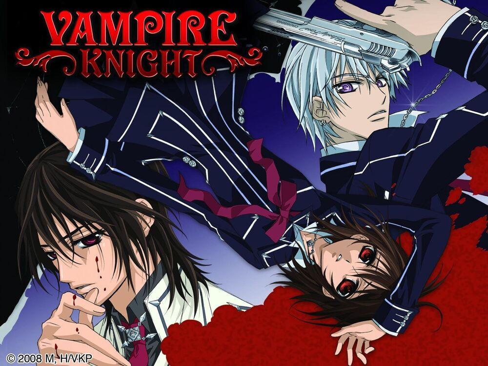 Poster for anime Vampire Knight