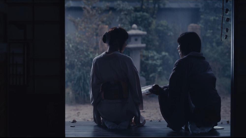 Karou and Megumi from Rurouni Kenshin The Final