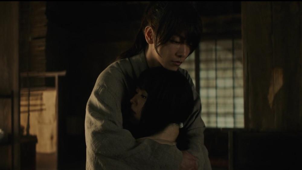 Kenshin Himura and Tomoe Yukishiro of Rurouni Kenshin: The Beginning