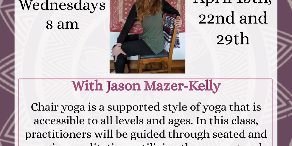 Chair Yoga: Hosted by the West Tisbury Library